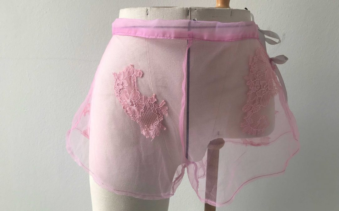 Rose french knickers