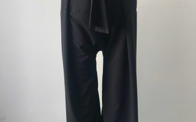 Black thai pants